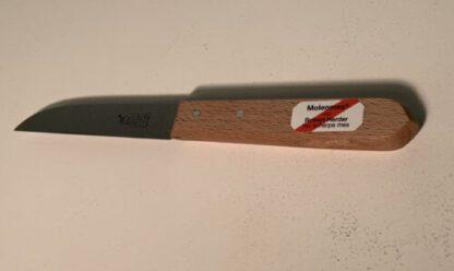 schilmesje-met-houten-handvat